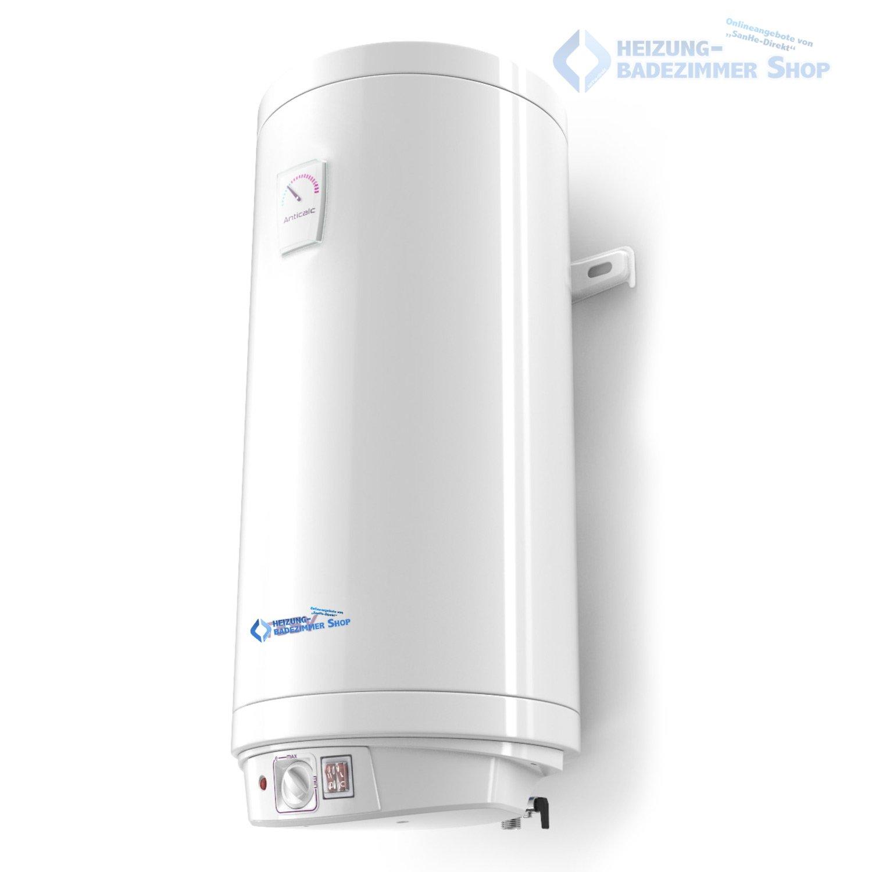30 Liter Warmwasserspeicher Boiler Elektro Speicher Heizung emaillierter Stahlbeh/älter