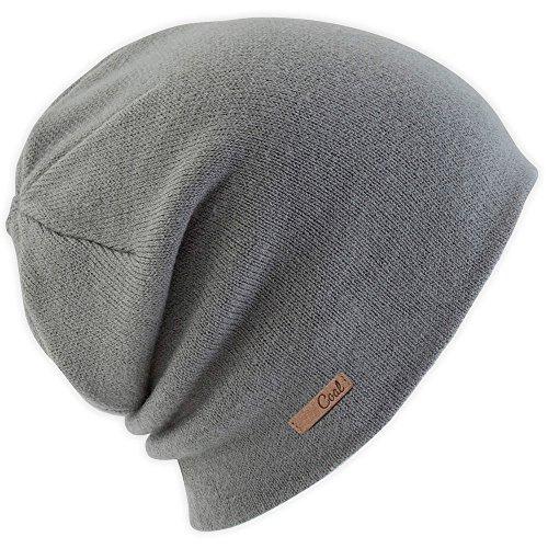 Coal Women's The Julietta Soft Fine-Knit Slouchy Beanie, Charcoal, One (Black Oversized Sombrero Hat)