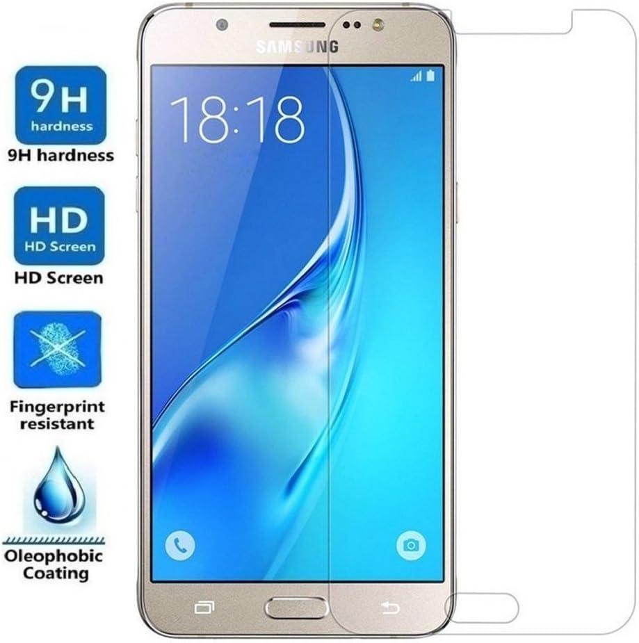 REY Protector de Pantalla para Samsung Galaxy J7 2016 Cristal ...