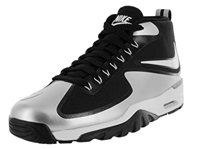 Nike Men's Air Untouchable Vapor Black/White/Metallic Silver/Cl Gry Training