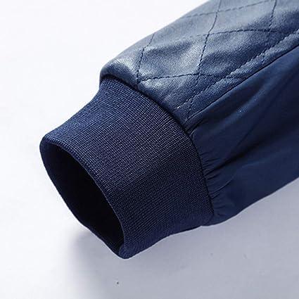 Komise Mode Herren Herbst Winter Casual Pocket Button Thermische Lederjacke  Top Coat M-5XL  Amazon.de  Bekleidung 431a3b79d5