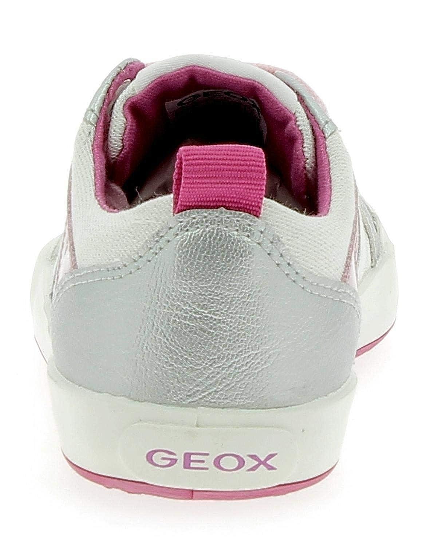 Geox J Gisli Schuhe Mädchen Weiß (31): : Schuhe