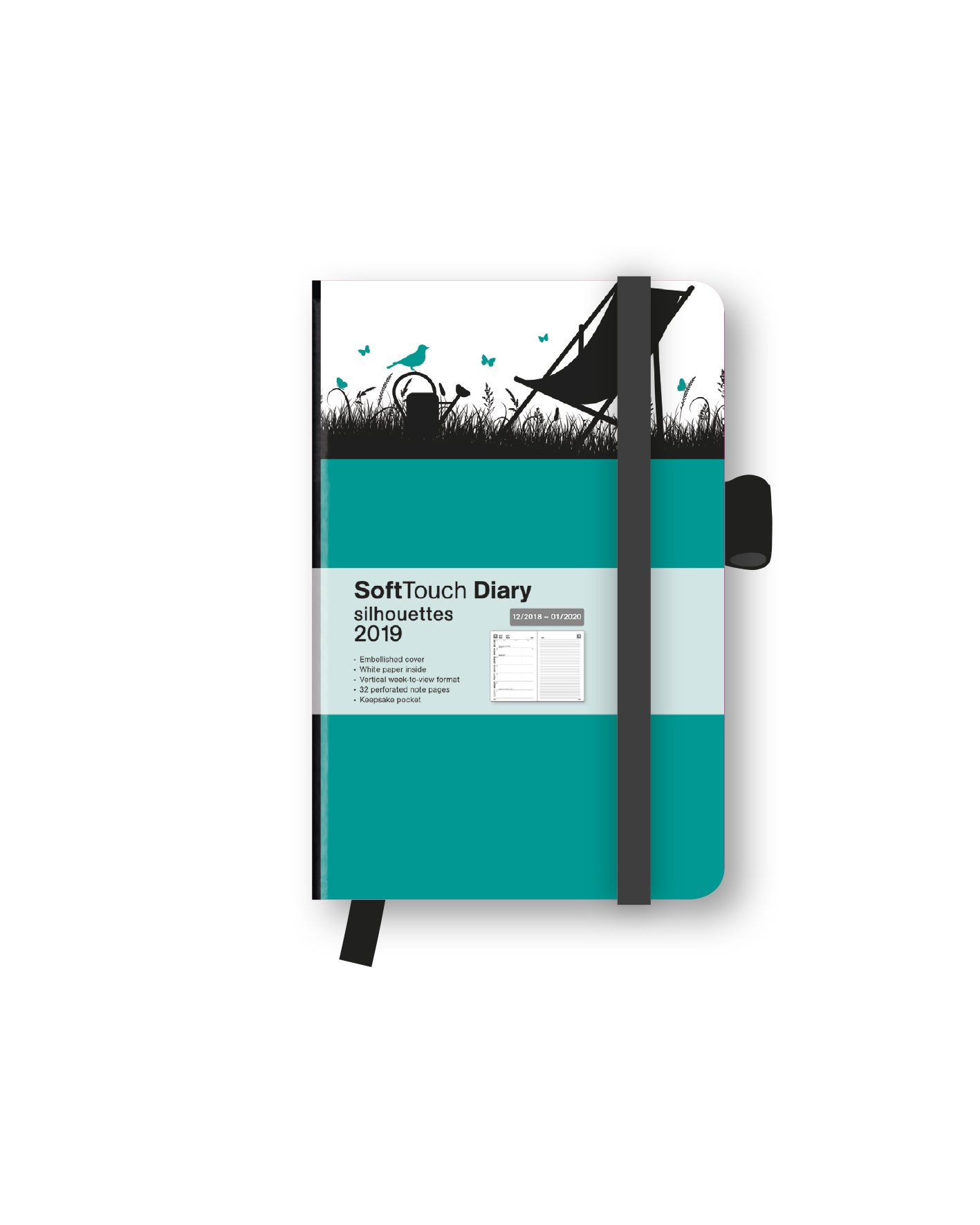 2019 Silhouettes Garden SoftTouch Diary: Amazon.es: teNeues ...