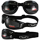 Global Vision Mach 3 Folding Goggles