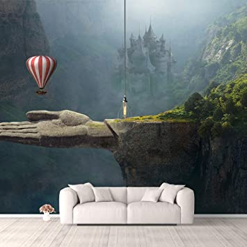 Buy Idea4wall Wall Murals For Bedroom Fantasy View Mystery Collage Removable Wallpaper Peel And Stick Wall Stickers 66x96 Inches Online At Low Prices In India Amazon In