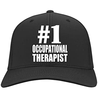 Amazon.com  Number One  1 Occupational Therapist - Twill Cap Black ... f342c71a797