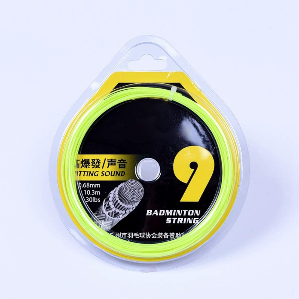 Balight Professional Badminton Racket String 0.68mm Carbon Composite Fiber High Flexibility Strength Elastic Durable Badminton Line Accessories