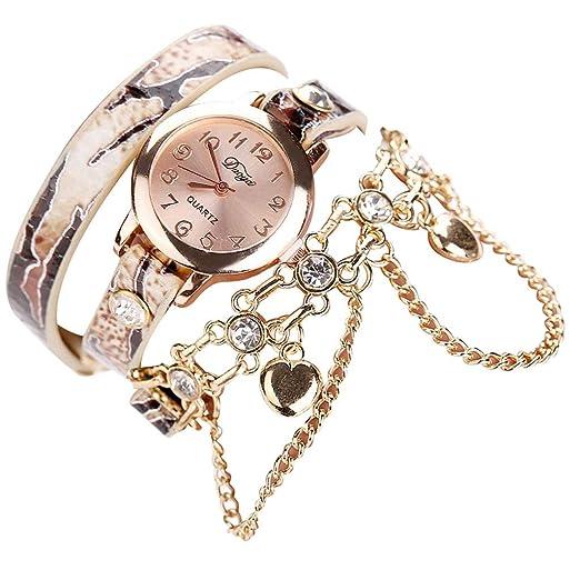 e76e77181 Amazon.com: Bracelet Watches for Women,LYN Star❀ Fashion Analog ...