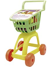 Tachan Carrito supermercado con Alimentos Color Verde/Amarillo CPA Toy Group 1