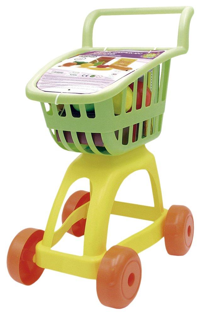 Tachan Carrito supermercado con Alimentos Color Verde/Amarillo CPA Toy Group 1: Amazon.es: Juguetes y juegos