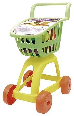 Tachan Carrito supermercado con Alimentos, Color Verde/Amarillo (CPA Toy Group 1): Amazon.es: Juguetes y juegos