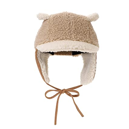 ad7bf8cd22a QCHOMEE Baby Kid Toddler Winter Trooper Hat Cute Cartoon Lei Feng Cap  Thicken Windproof Keep Warm