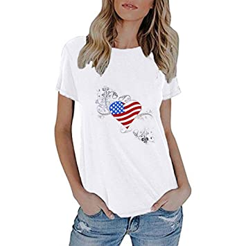 TWinmar - Camiseta de Manga Corta para Mujer, diseño de ...