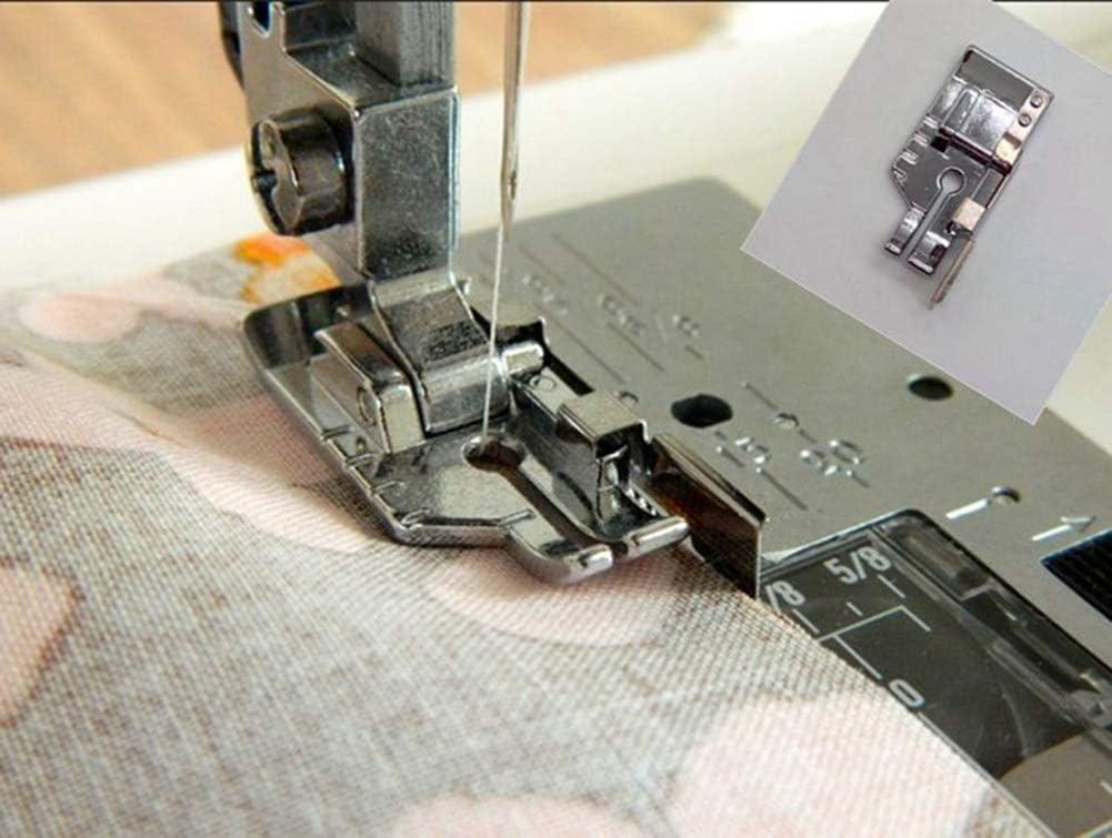 Prensatelas para máquina de coser de 1/4 pulgadas (cuarto de ...