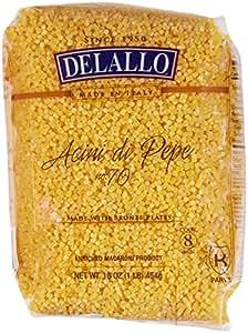 DeLallo Acini Di Pepe No.70 - 1 lb