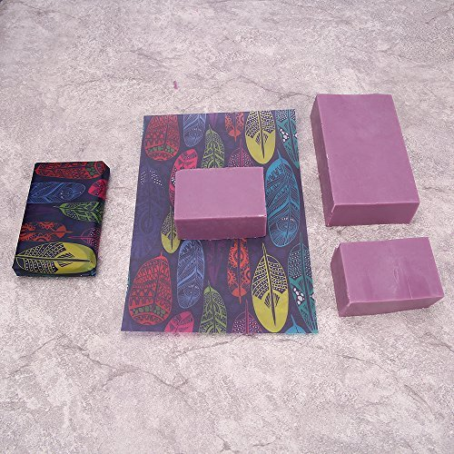 Hukoer Rectangular Silicone Soap Mold With Wood Box And Wood