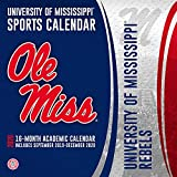 University of Mississippi Rebels 2020 Calendar