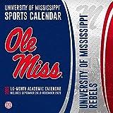 Mississippi Rebels: 2020 12x12 Team Wall Calendar