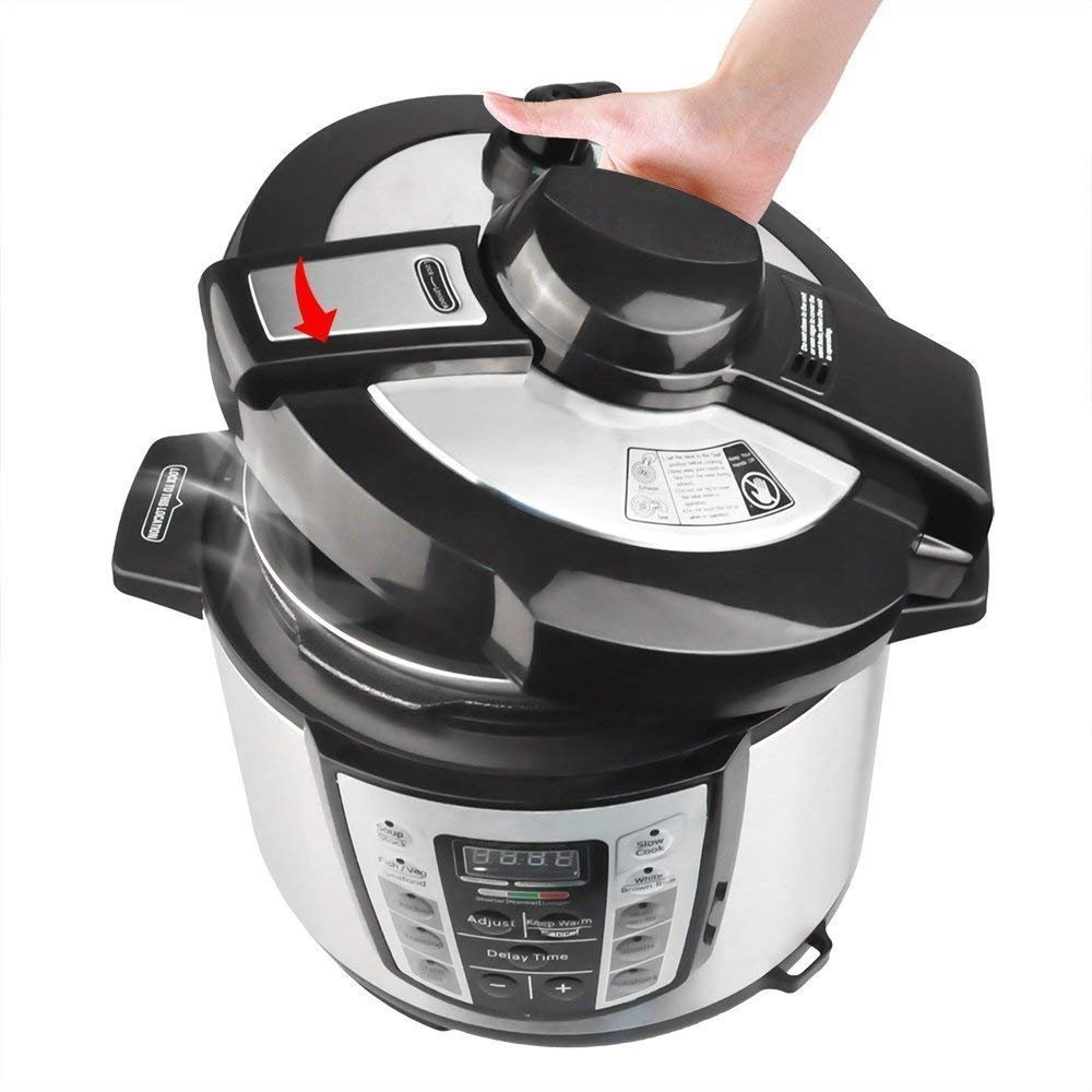 Greatic YA500 10-in-1 Multi-Use Programmable Electric Pressure Cooker by Greatic (Image #3)