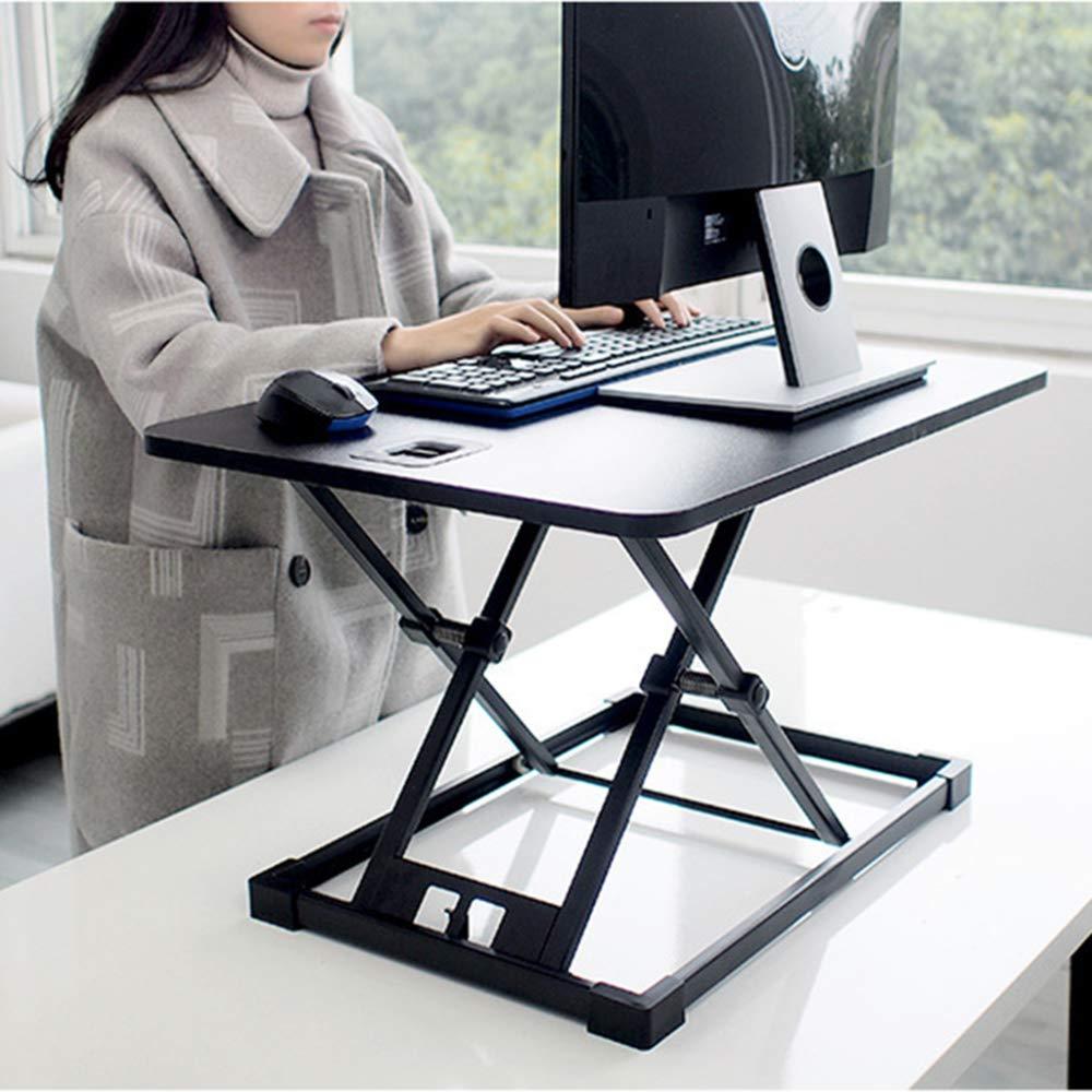 LIULIFE Laptop Desktop Table Converter Sit-Stand Desk Height Adjustable Ergonomic Office Workstation Riser for PC Computer Screen by LIULIFE (Image #4)