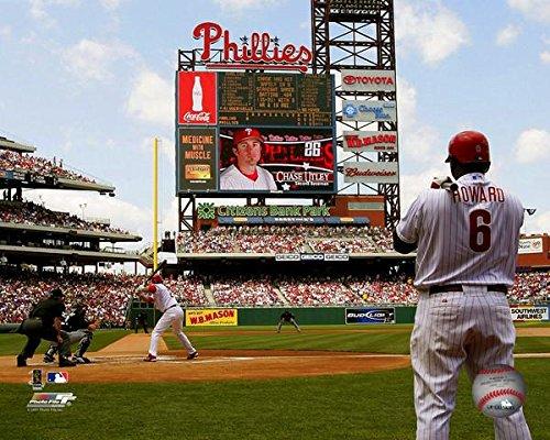 (Ryan Howard & Chase Utley Philadelphia Phillies MLB Action Photo (8