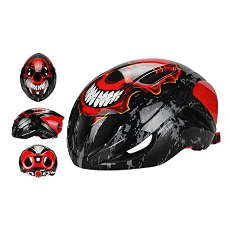 LOLIVEVE Casco para Bicicleta Casco para Máscara Casco Neumático ...