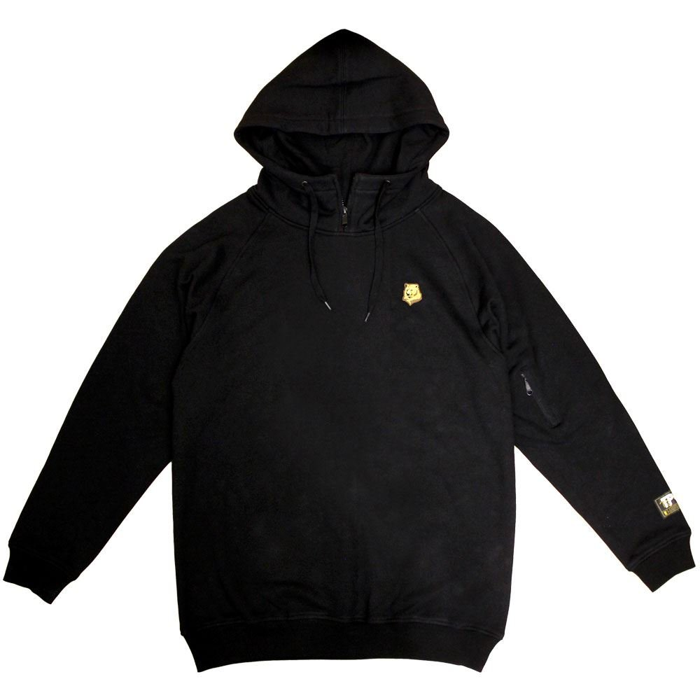 Grizzly Griptape Mountain High Pullover Hoodie schwarz