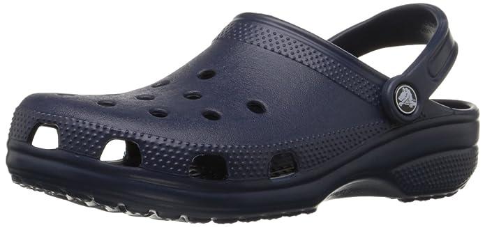 crocs Classic Lined Clog, Unisex - Erwachsene Clogs, Blau (Blue Jean/Navy), 42/43 EU