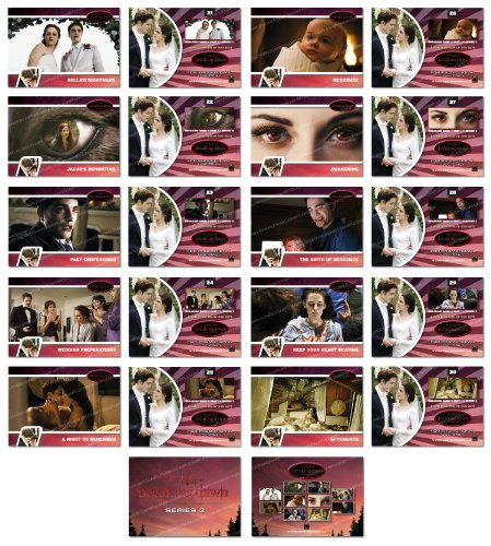Twilight Breaking Dawn 10 Card Series 3 Promotional Trading Card Set