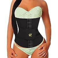 LAZAWG Women Hot Waist Trainer Sauna Sweat Slimming Belt Tummy Control Strap Neoprene Sport Girdle for Weight Loss