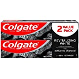 Colgate Essentials Whitening Toothpaste with Charcoal, 98 mL - 2 Pack