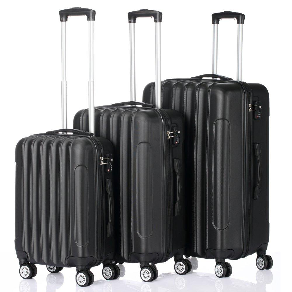 3-in-1 Multifunctional Large Capacity Traveling Storage Suitcase Black