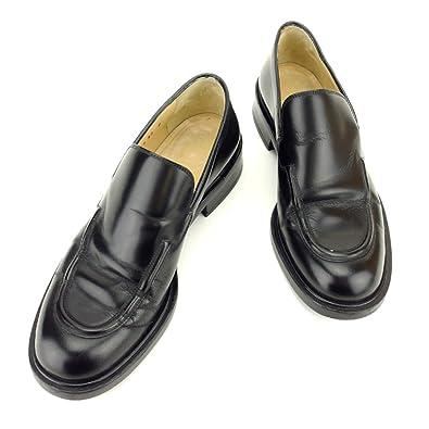 グッチ GUCCI ローファー シューズ 靴 レディース ♯37 ラウンドトゥ 中古 T6353