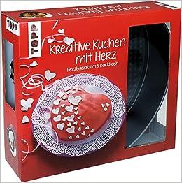 Kreativ Set Kreative Kuchen Mit Herz Buch Mit Rezepten Und