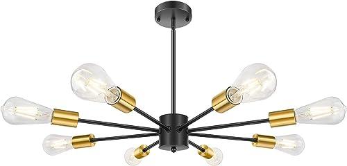 8-Light Sputnik Chandelier