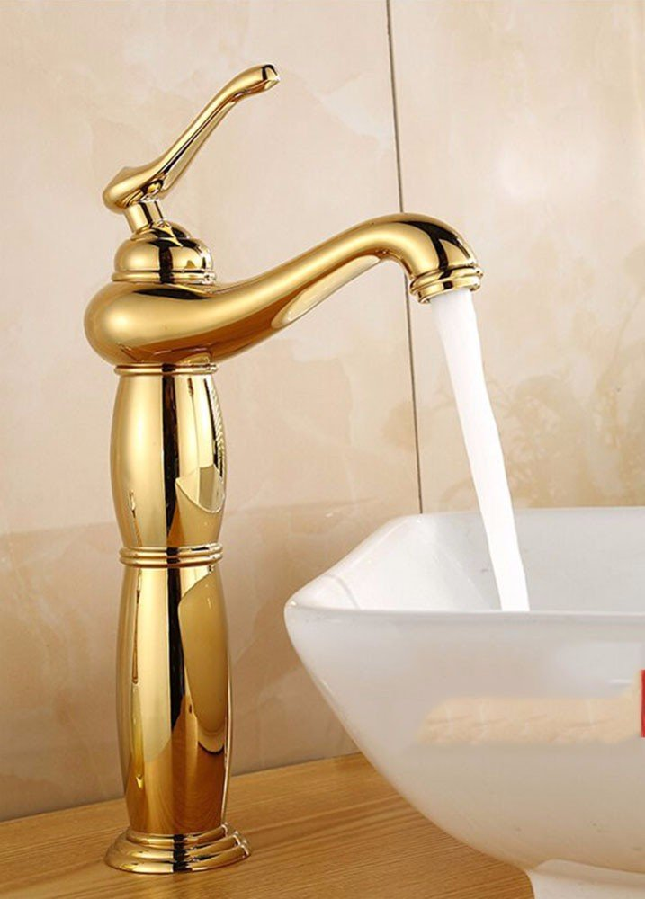 8 Hlluya Professional Sink Mixer Tap Kitchen Faucet Copper, washing your face, hot and cold, bathroom, Single Hole Sink mixer 6