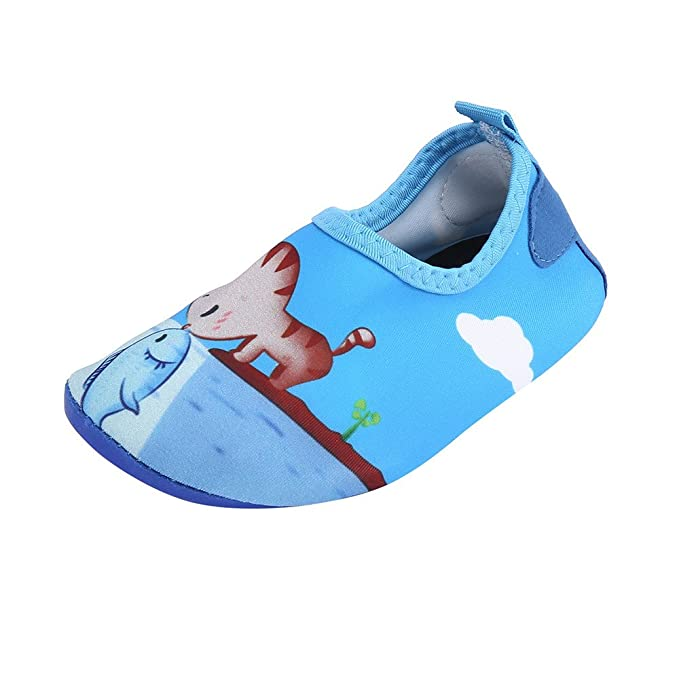 Damen Herren Kinder Wasserschuhe Badeschuhe Strand Aqua Schuhe Gr 26-46 NEU