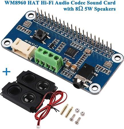 Innovateking Eu Hi Fi Soundkarte Wm8960 Hat Audio Codec Computer Zubehör