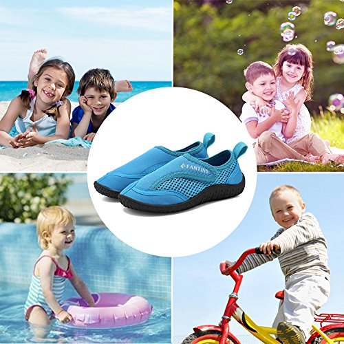 CIOR Boy Swimming Shoes Girls' Toddler 03blue Water Fantiny amp; Aqua rxPr8vEw