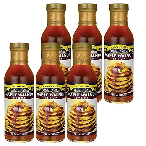 Maple Walnut (Walden farms Calorie Free Maple Walnut Syrup 12 oz ( 6 Pack ))