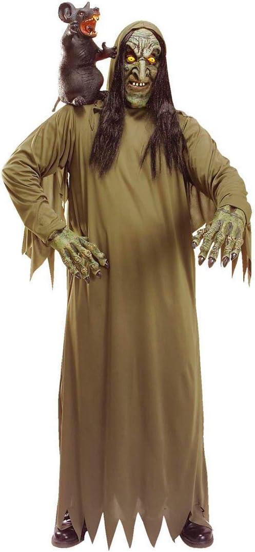 NET TOYS Disfraz de Bruja Zombi Muertos Traje Halloween hechicera ...