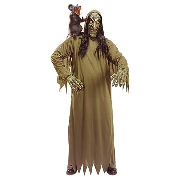 Net Toys Zombie Hexe Kostum Hexenkostum Untote Halloweenkostum Alte