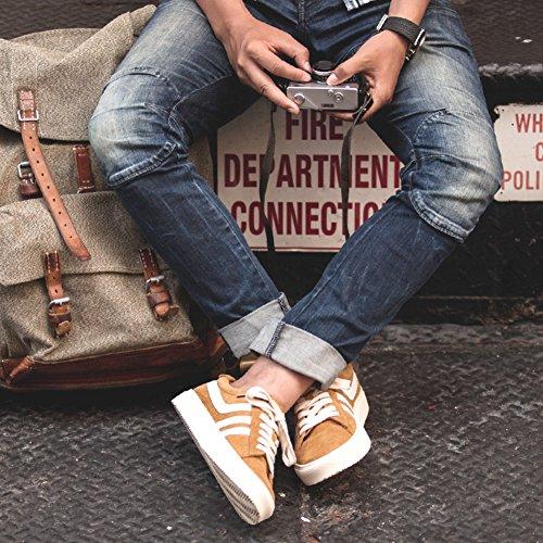 Loisirs Des De Chaussures Air blanc glisser automne robe plein Sur Jaune Tendon Hommes mode qTqErt