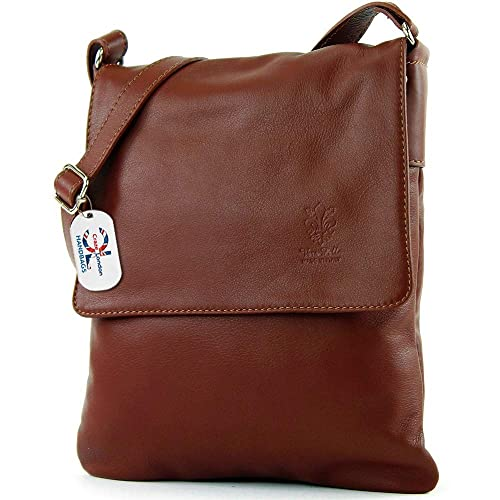 c46abd9ee9 Craze London Genuine Italian Leather Verapelle Large Cross body Messenger  Bag Womens Ladies Verappele hand
