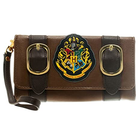 Monedero Oficial Harry Potter Hogwarts Crest Trifold ...