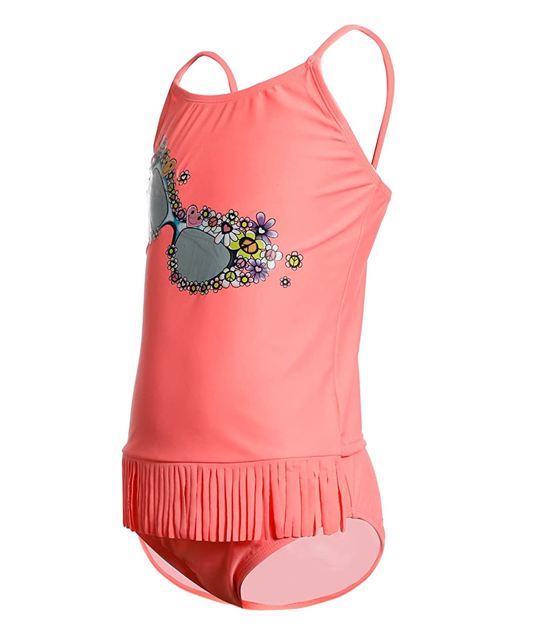 BELLOO Girls Tassel Two Piece Tankini Swimsuits for 6 Year to 16 Years