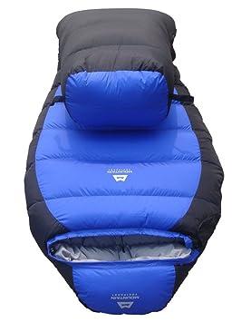 Relleno de Plumas de plumón de pato Saco de dormir, color blanco Ocio Outdoor Camping - Saco de dormir Azul azul: Amazon.es: Deportes y aire libre