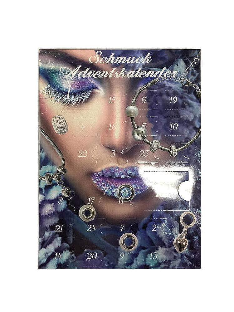 Calendrier de l'avent pour Femme (Bracelet et Collier) (24 pcs) Calendrier de l'avent