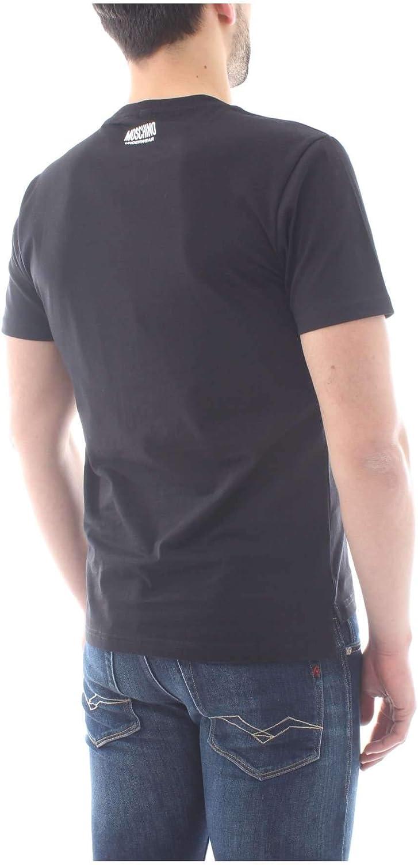 MOSCHINO Underwear Tape Logo T-Shirt in Black