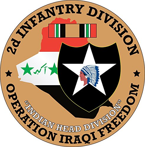 2nd Infantry Division Operation Iraqi Freedom Decal Operation Iraqi Freedom Decals